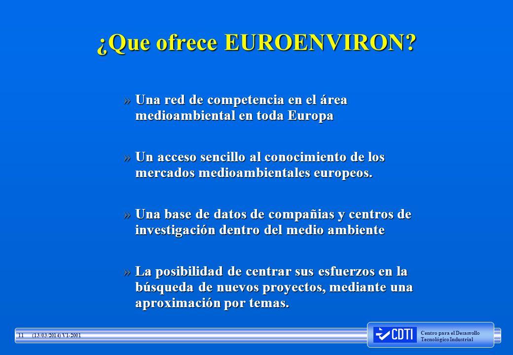 ¿Que ofrece EUROENVIRON