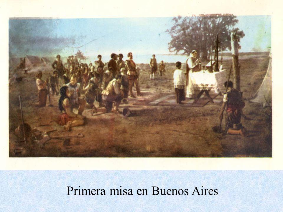 Primera misa en Buenos Aires
