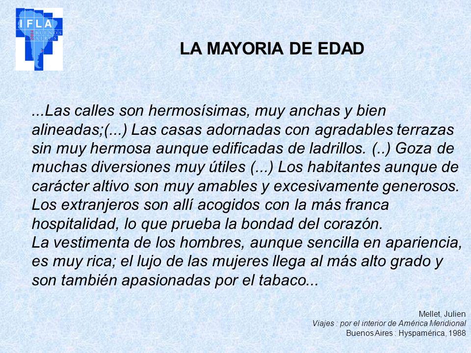 LA MAYORIA DE EDAD
