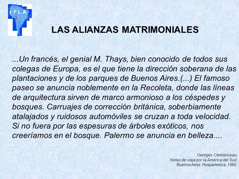 LAS ALIANZAS MATRIMONIALES