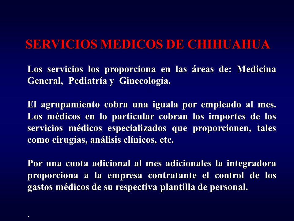 SERVICIOS MEDICOS DE CHIHUAHUA