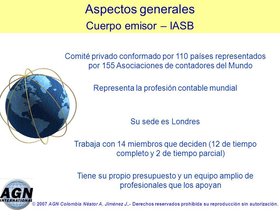 Representa la profesión contable mundial