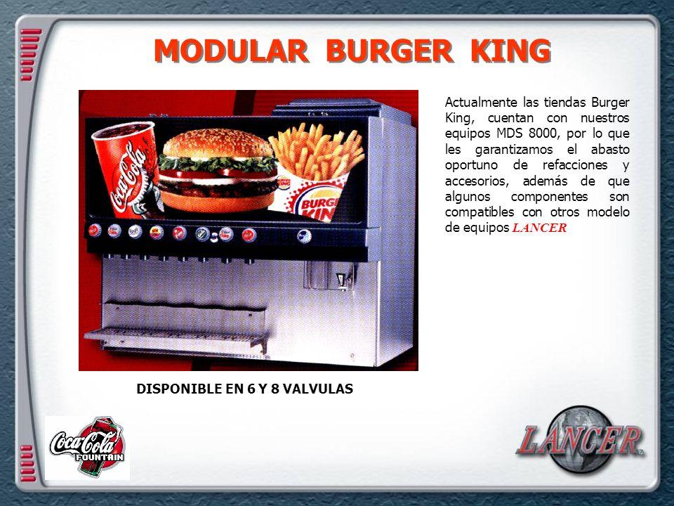 MODULAR BURGER KING