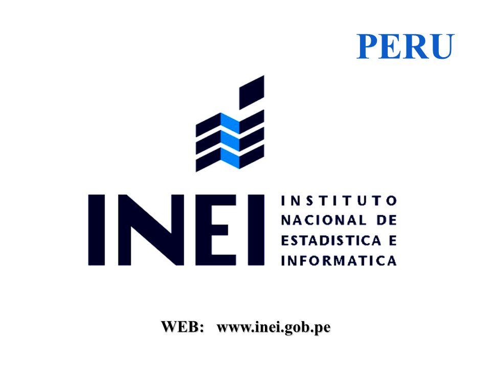 PERU WEB: www.inei.gob.pe