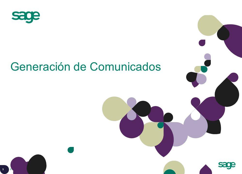 Generación de Comunicados