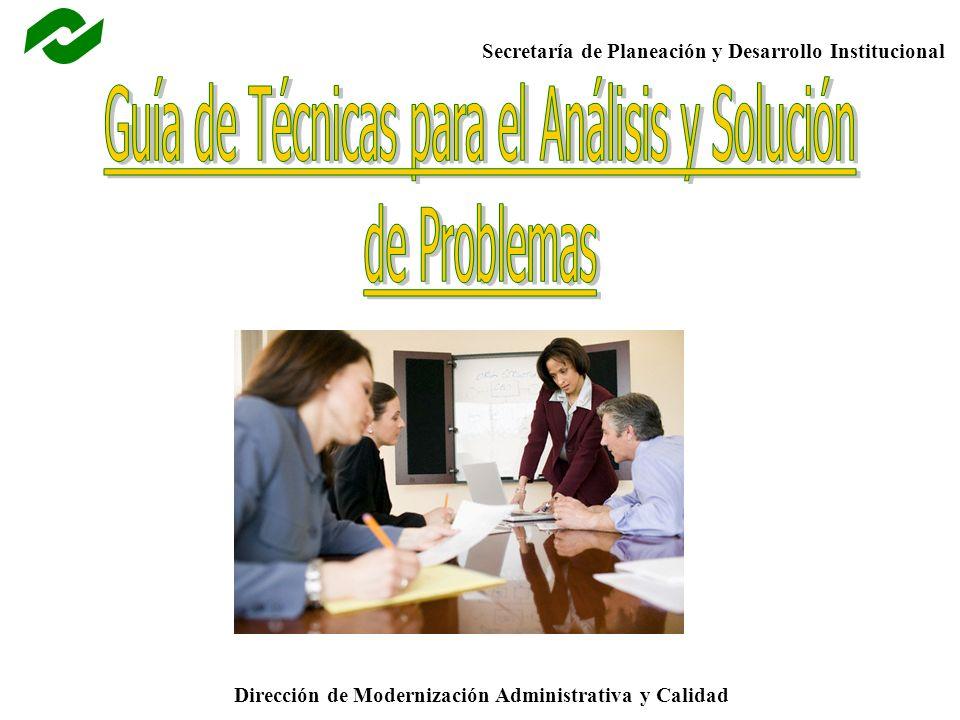 Guía de Técnicas para el Análisis y Solución