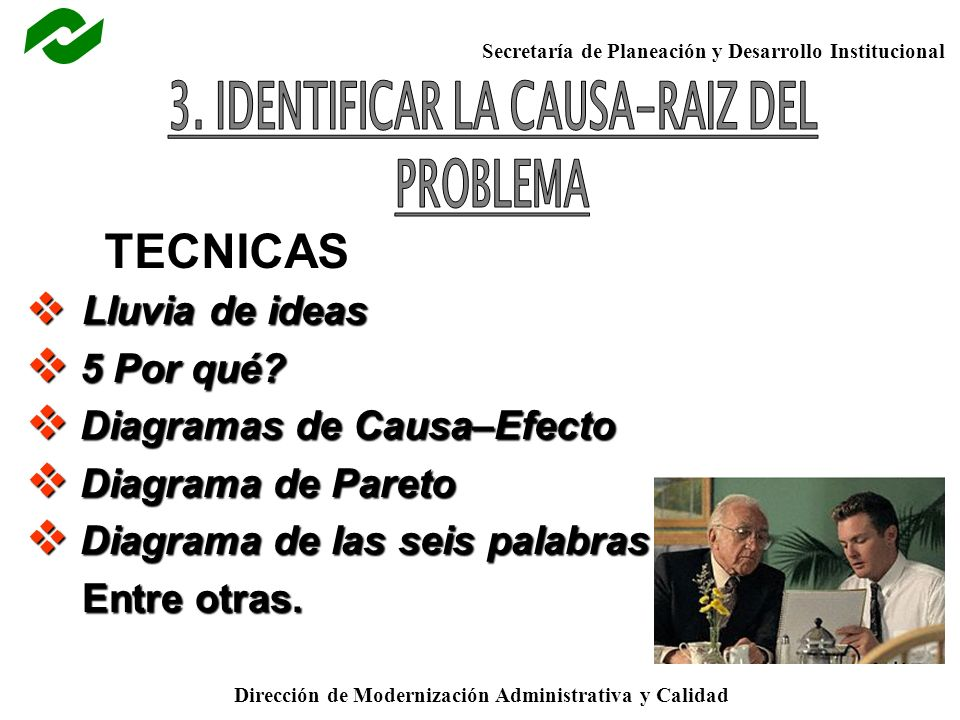 3. IDENTIFICAR LA CAUSA-RAIZ DEL