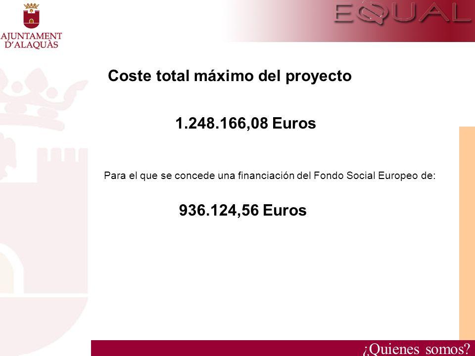 Coste total máximo del proyecto