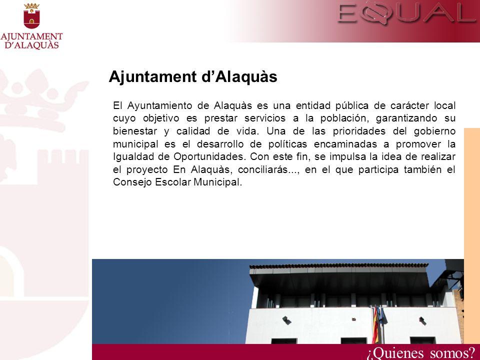 Ajuntament d'Alaquàs ¿Quienes somos