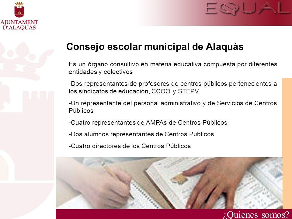 Consejo escolar municipal de Alaquàs