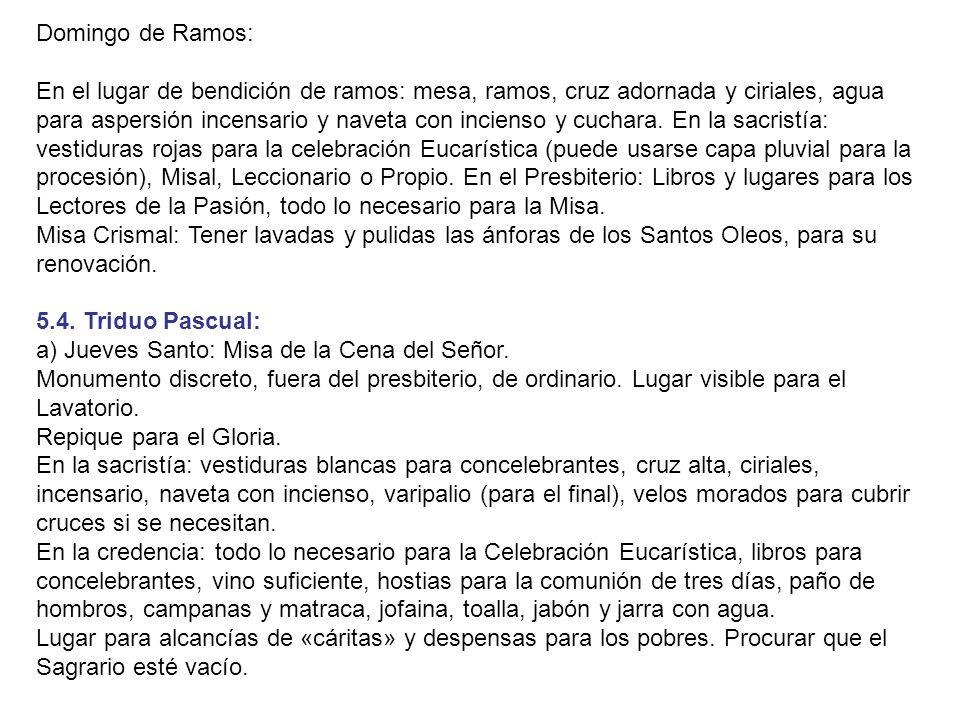 Domingo de Ramos: