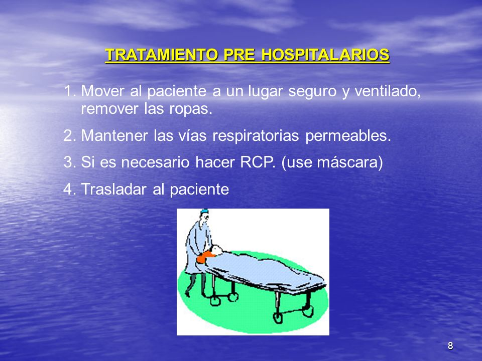 TRATAMIENTO PRE HOSPITALARIOS