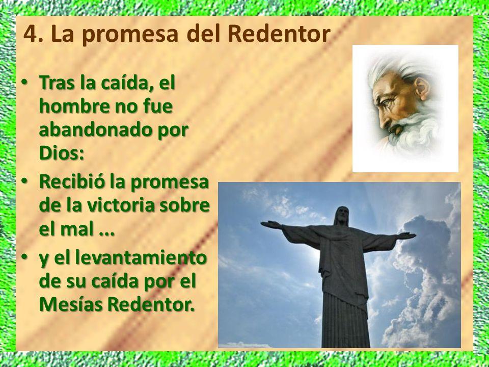 4. La promesa del Redentor