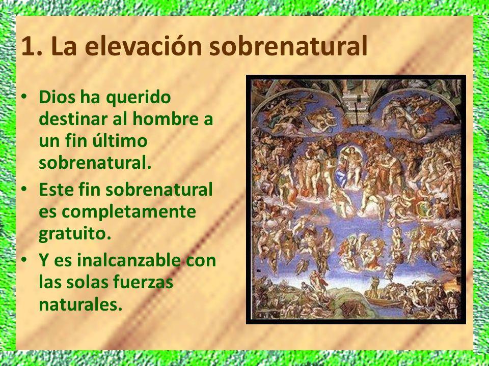 1. La elevación sobrenatural