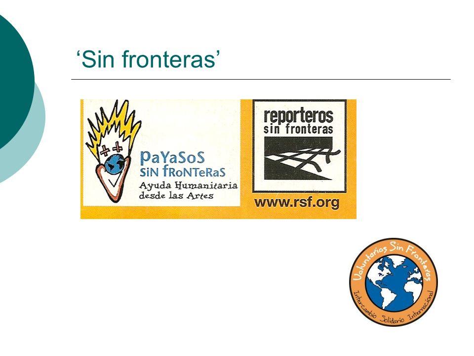 'Sin fronteras'