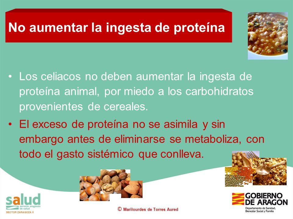 No aumentar la ingesta de proteína