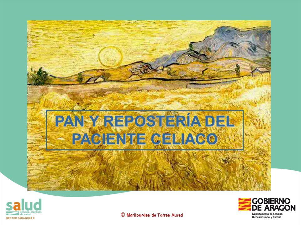 PAN Y REPOSTERÍA DEL PACIENTE CELIACO