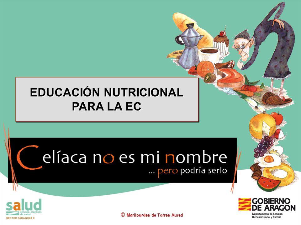 EDUCACIÓN NUTRICIONAL PARA LA EC