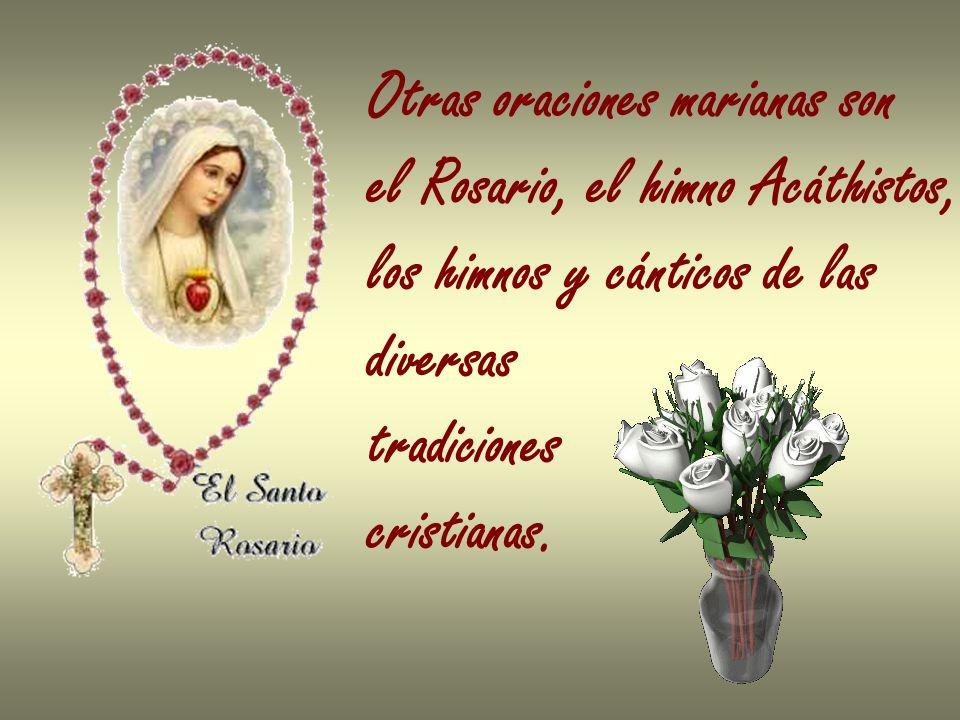 Otras oraciones marianas son