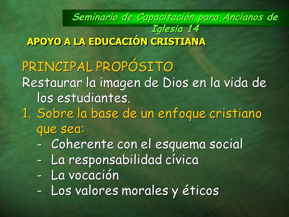 Seminario de Capacitación para Ancianos de Iglesia 14