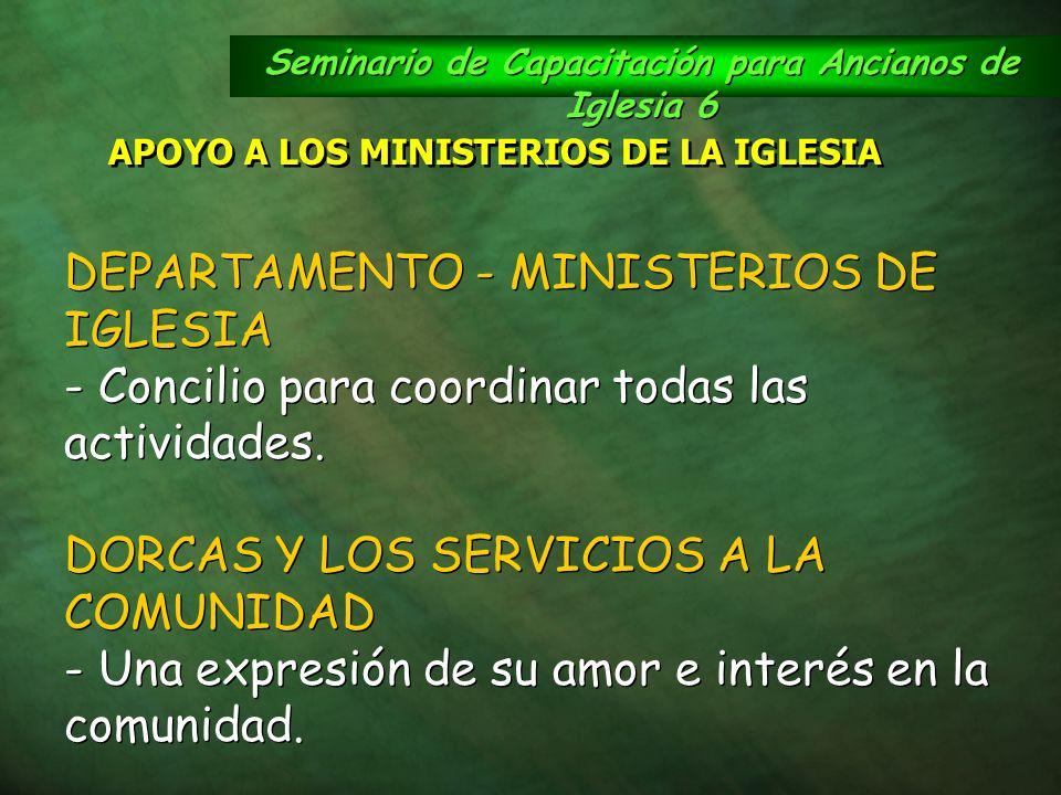 Seminario de Capacitación para Ancianos de Iglesia 6