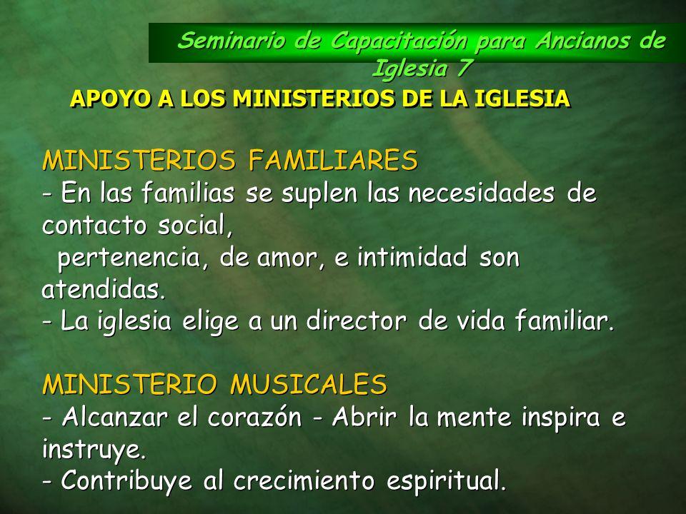 Seminario de Capacitación para Ancianos de Iglesia 7