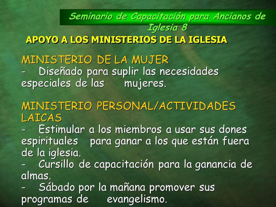 Seminario de Capacitación para Ancianos de Iglesia 8