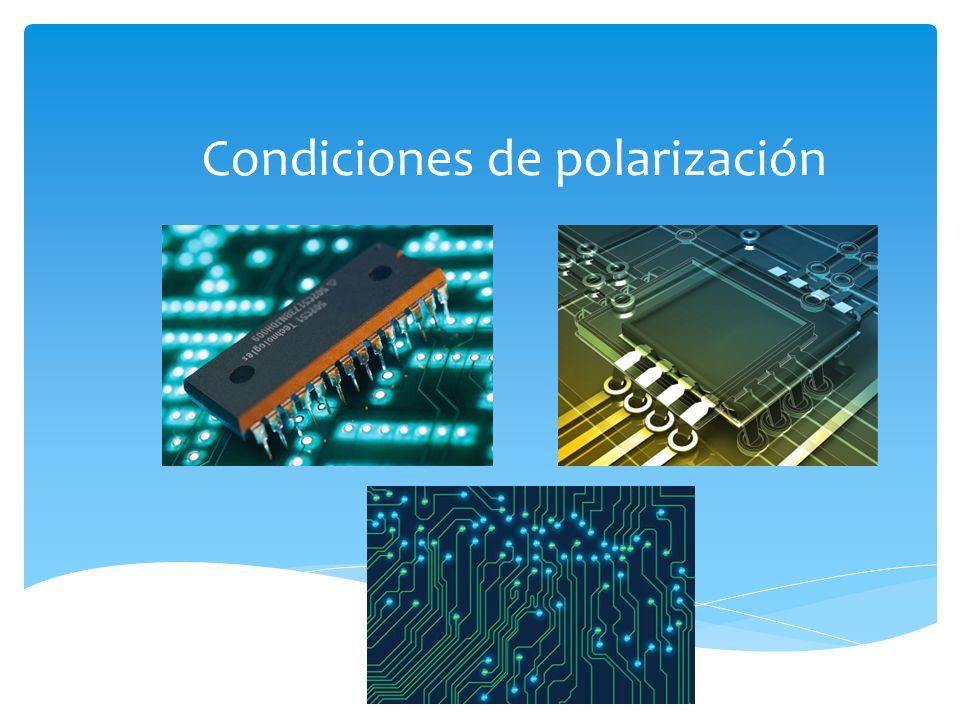 Condiciones de polarización