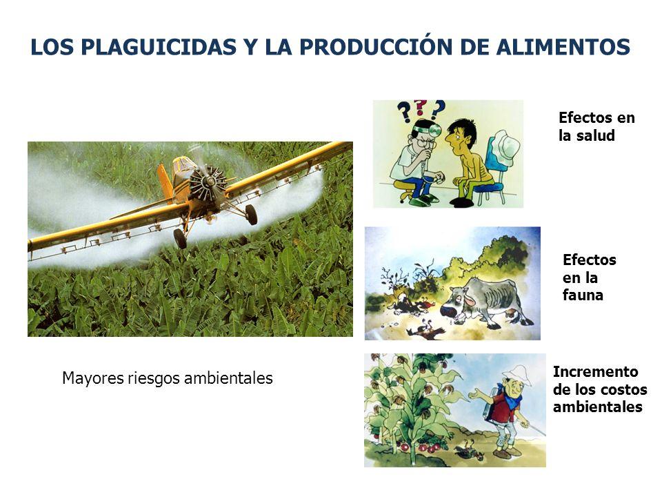 LOS PLAGUICIDAS Y LA PRODUCCIÓN DE ALIMENTOS