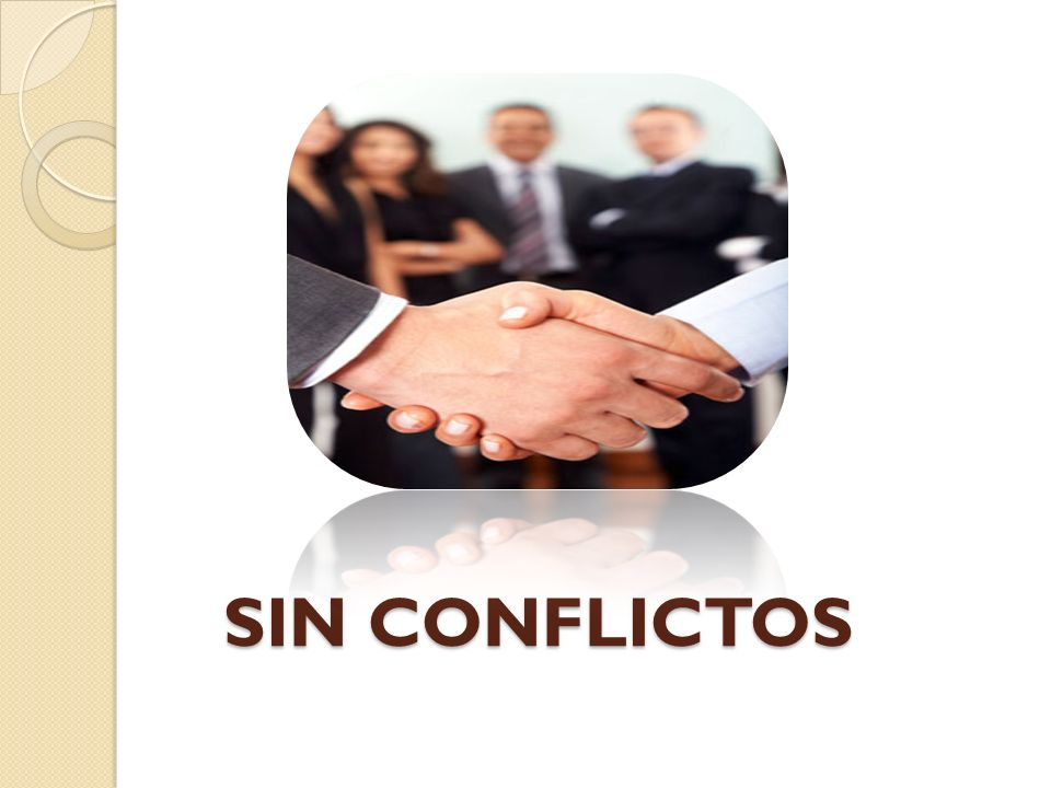 SIN CONFLICTOS