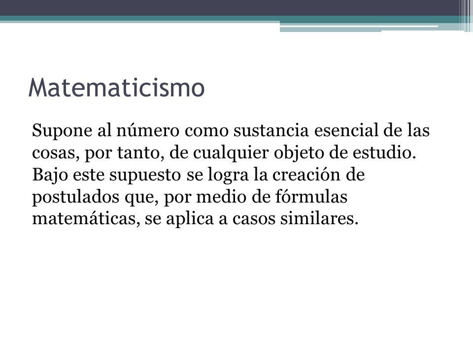 Matematicismo