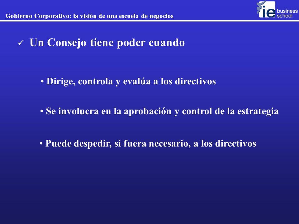 Dirige, controla y evalúa a los directivos