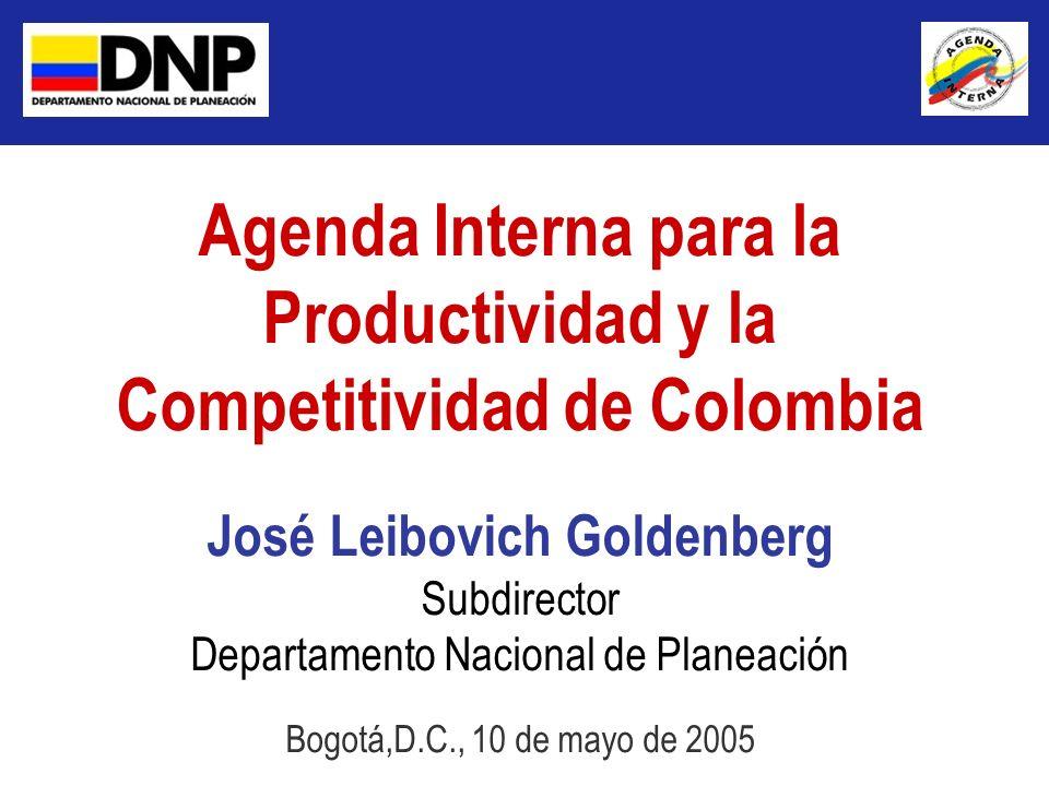 Agenda Interna para la Productividad y la Competitividad de Colombia