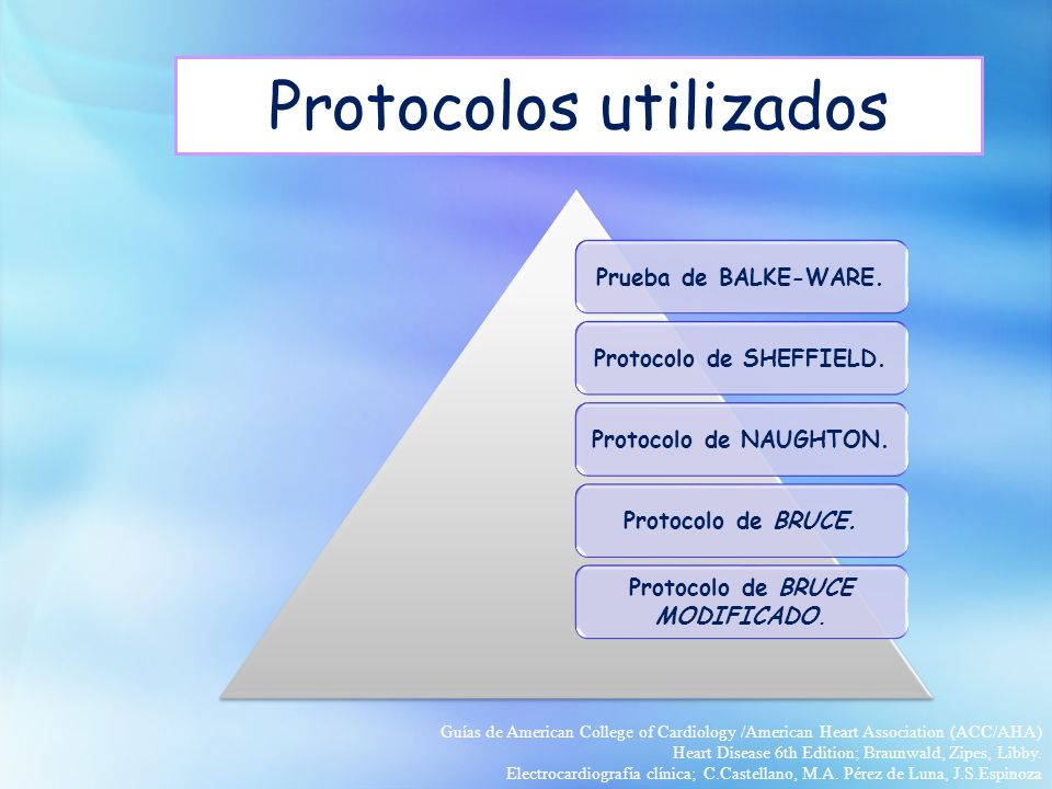 Protocolos utilizados
