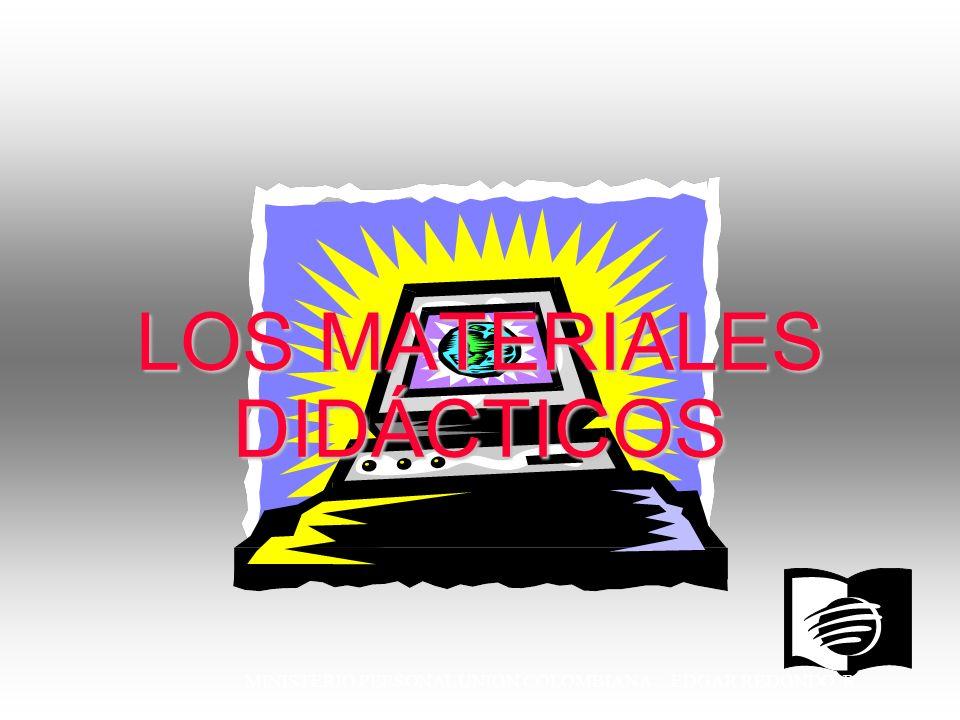 LOS MATERIALES DIDÁCTICOS