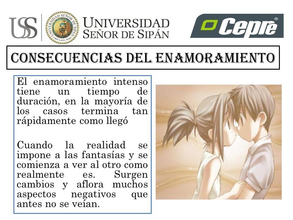 CONSECUENCIAS DEL ENAMORAMIENTO