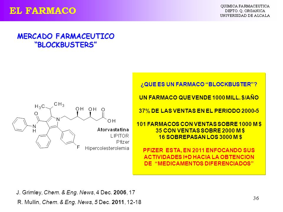 MERCADO FARMACEUTICO BLOCKBUSTERS