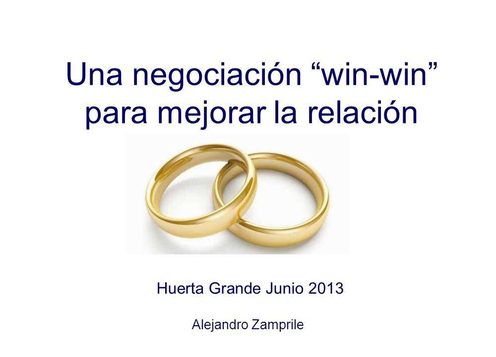 Una negociación win-win para mejorar la relación