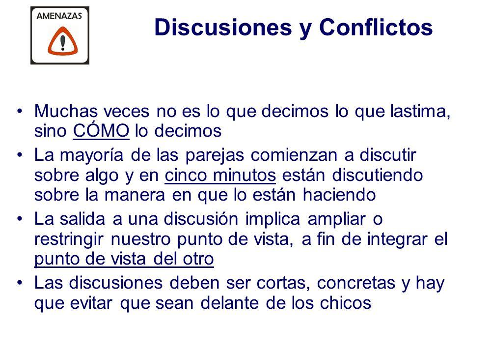 Discusiones y Conflictos