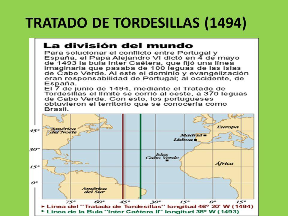 TRATADO DE TORDESILLAS (1494)