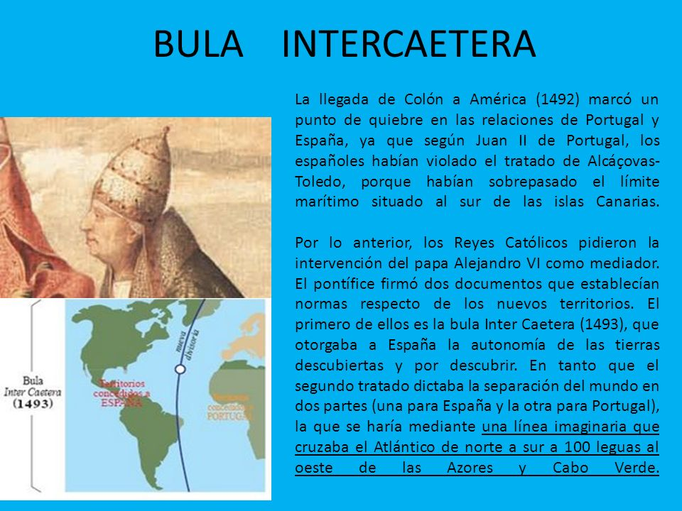 BULA INTERCAETERA