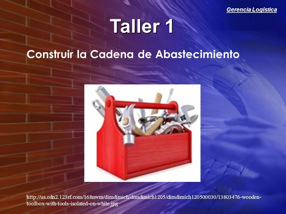 Taller 1 Construir la Cadena de Abastecimiento