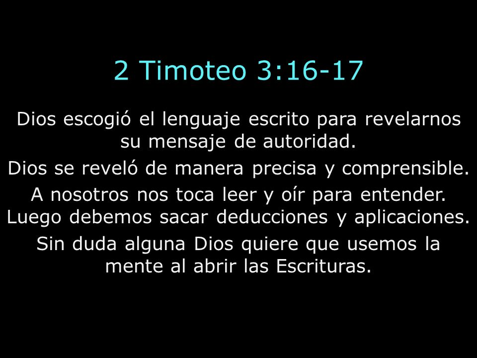2 Timoteo 3:16-17