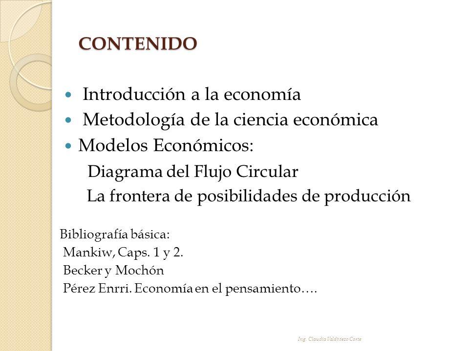 Introducción a la economía Metodología de la ciencia económica