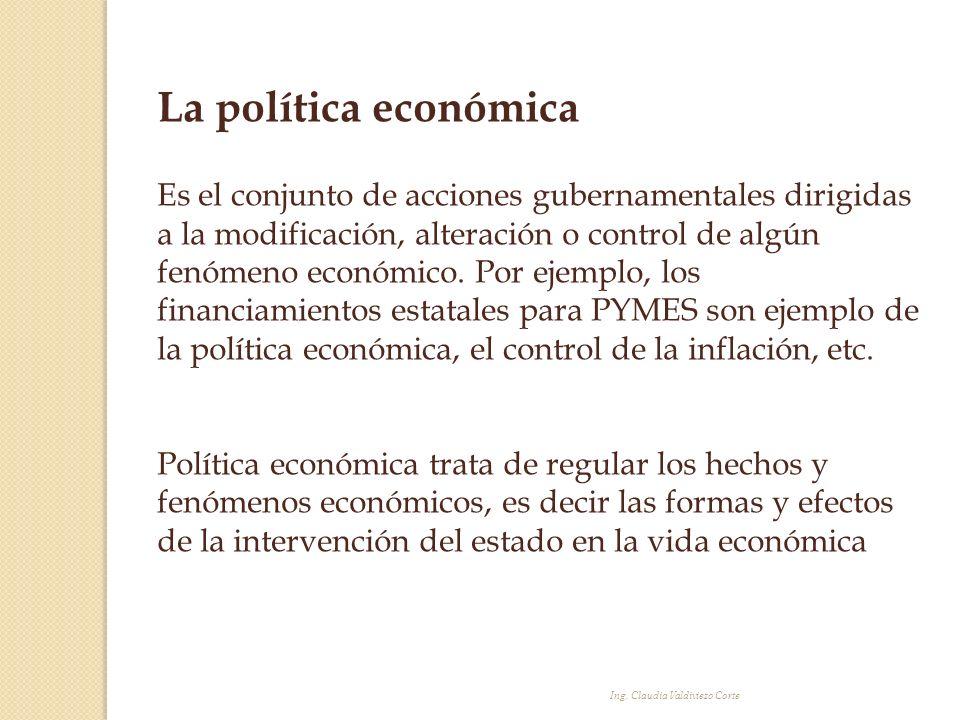 La política económica