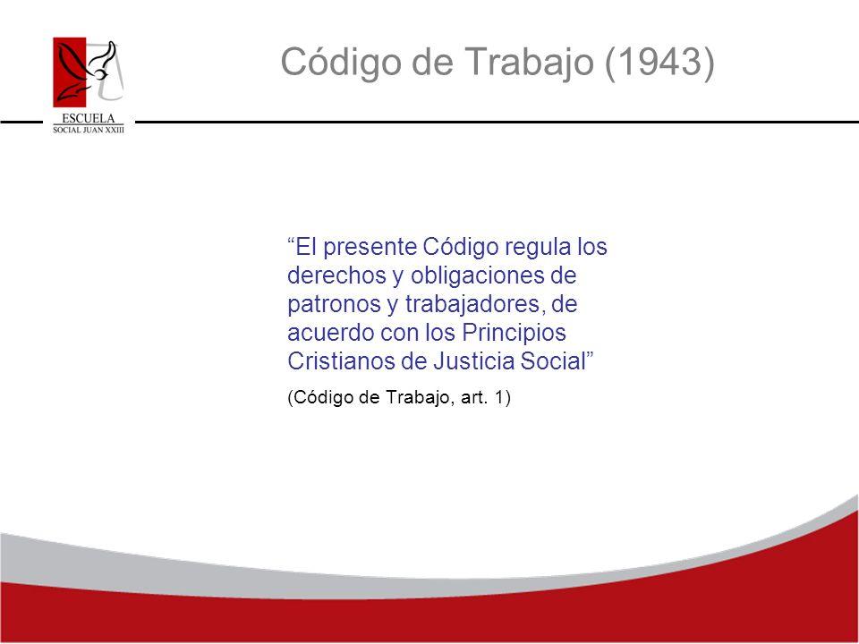 Código de Trabajo (1943)