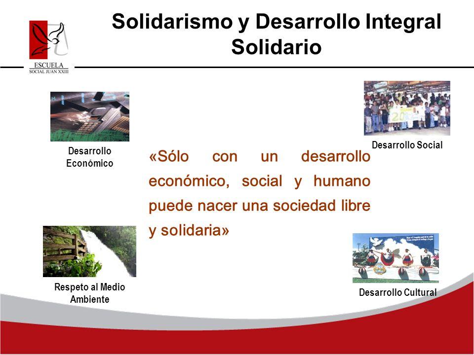 Solidarismo y Desarrollo Integral Solidario