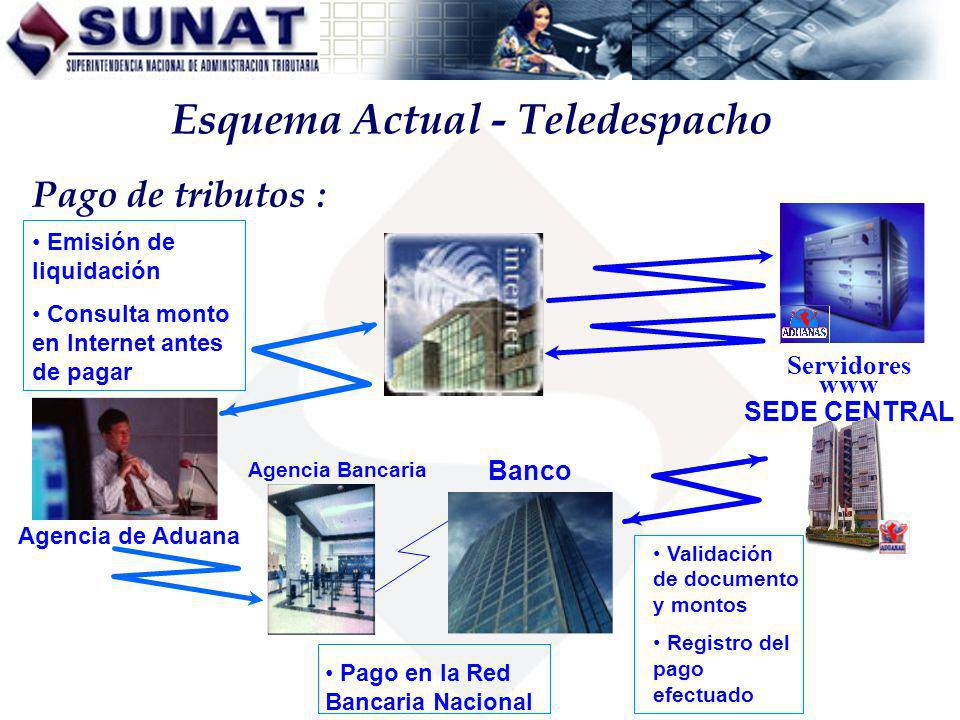 Esquema Actual - Teledespacho