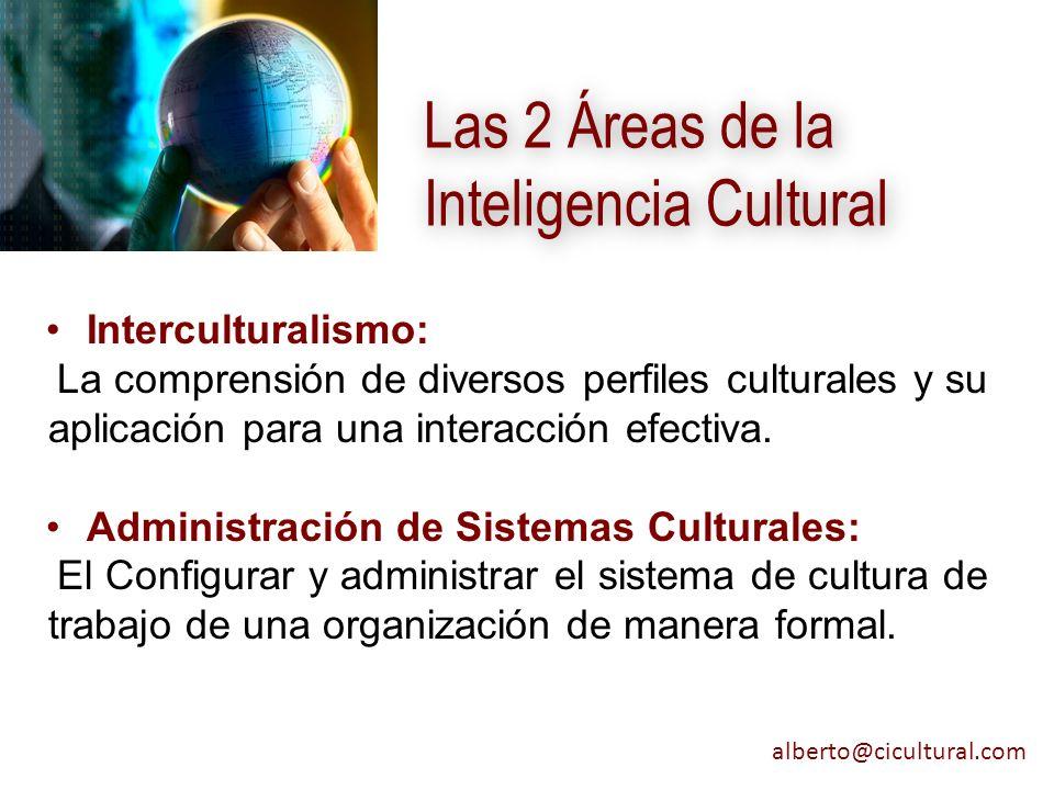 Las 2 Áreas de la Inteligencia Cultural