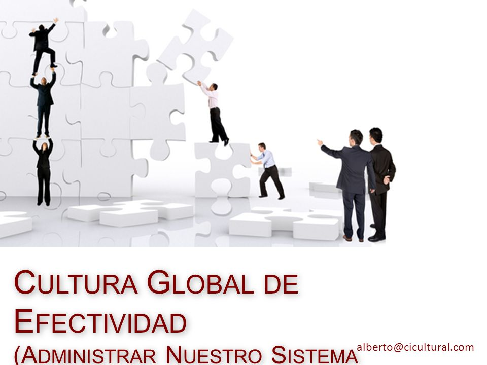 Cultura Global de Efectividad